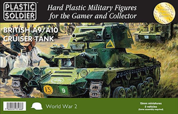 Ww2v15029 a9a10 british cruiser tank 15mm