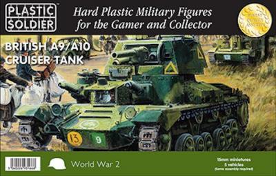 WW2V15029 - A9/A10 British Cruiser Tank 15mm