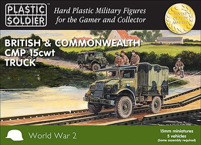 WW2V15030 - British CMP 15cwt Truck 15mm
