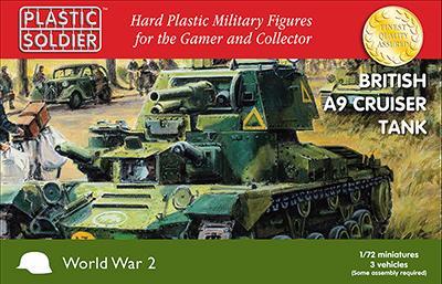 WW2V20023 - A9 British Cruiser Tank 1/72