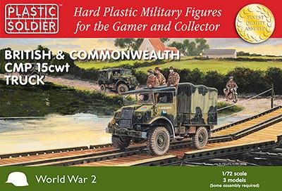 WW2V20024 - CMP 15 CWT Trucks 1/72