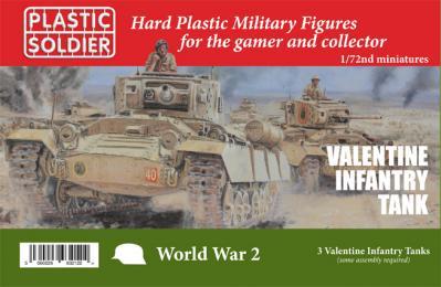 WW2V20028 - British Valentine Tank 1/72