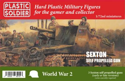 WW2V20029 - Sexton self propelled gun 1/72