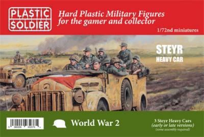 WW2V20031 - German Steyr Heavy Car 1/72