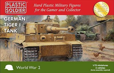 WW2V20032 - Pz.Kpfw.VI Tiger I 1/72