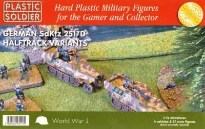 WW2V20016 - German SdKfz 251/D Halftrack Variants 1/72