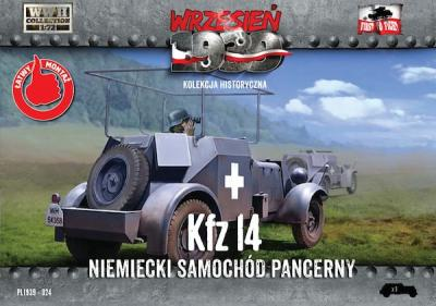 WWH024 - Kfz.14 German armored radio car 1/72