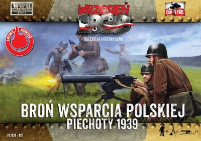 WWH027 - Polish Infantry Support Weapons 1/72