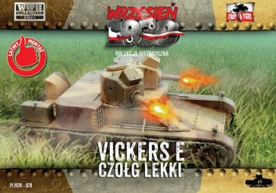 WWH028 - Vickers 6 ton Mk. E with twin turrets 1/72