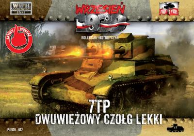 WWH032 - Polish 7TP double turret Polish light tank 1/72