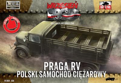 WWH034 - Praga RV truck/lorry in Polish service 1/72