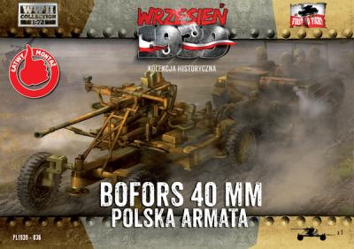 WWH036 Polish Bofors 40mm Anti Aircraft Gun 1/72