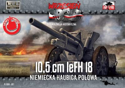 WWH037 - 10,5cm leFH 18 German Field Howitzer 1/72