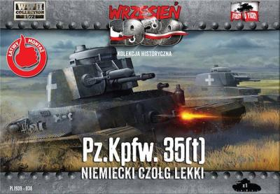 WWH038 - Pz.Kpfw. 35(t) German Light Tank 1/72