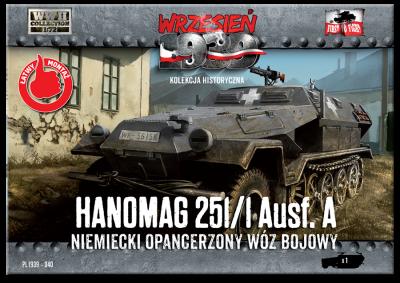 WWH040 - Sd.Kfz.251/1 Ausf.A 1/72