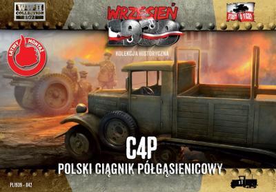 WWH042 - C4P Polish Halftrack Artillery Tractor 1/72