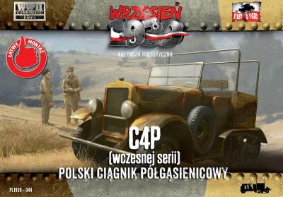 WWH044 - C4P Polish Artillery Tractor Early production 1/72