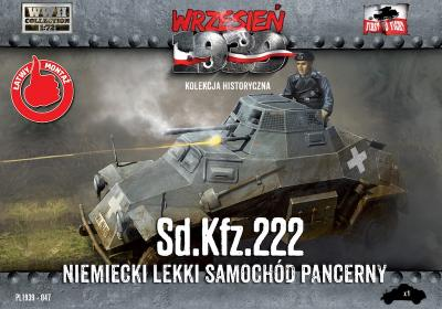 WWH047 - Sd.Kfz.222 - German Light Armored Car 1/72