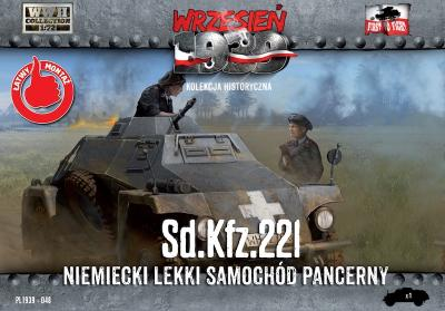 WWH048 - Sd.Kfz.221 - German Light Armored Car 1/72