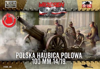 WWH049 - Skoda 100mm 14/19 Polish Howitzer 1/72
