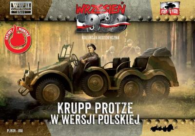 WWH050 - Krupp Protze - Polish Army version 1/72