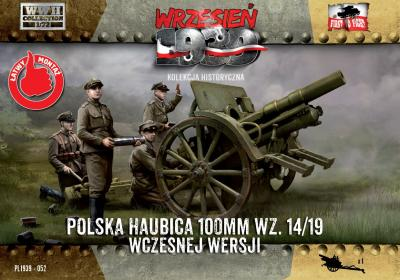 WWH052 100mm Polish wz. 14/19 Howitzer, Early Version 1/72
