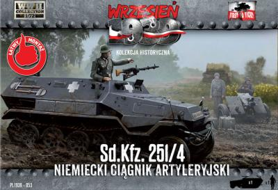 WWH053 - German Sd.Kfz.251/4 half-track 1/72