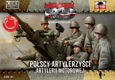 WWH057 Polish Anti-Aircraft Gun Crew 1/72
