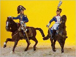 JS72/0204 - Général et Colonel d'infanterie de Ligne (Montés) 1/72