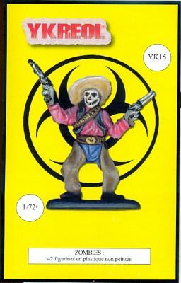 YK15 - Zombies 1/72