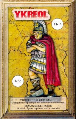 YK18 - Troupes de siège romaines 1/72