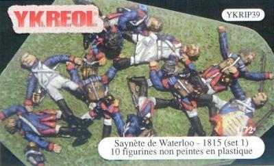 YKRIP39 - Saynète Waterloo 1815 (Set 1) 1/72