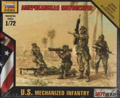 7407 - U.S. Mechanized Infantry 1/72
