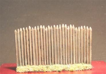 zub-028 Palissade en bois 1/72