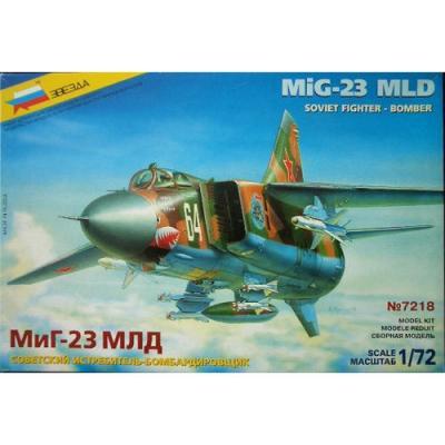 7218 - Mikoyan MiG-23MLD 1/72