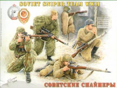 35097 - Soviet Sniper Team (WWII)