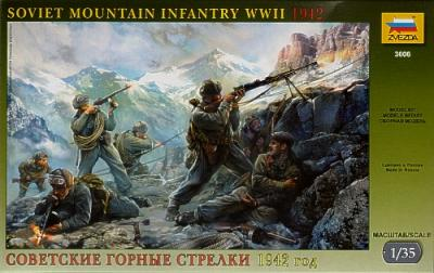 3606 - Soviet Mountain Troops WWII