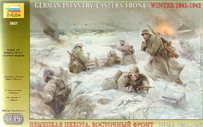3627 - German (WWII) Infantry Winter 1941/42