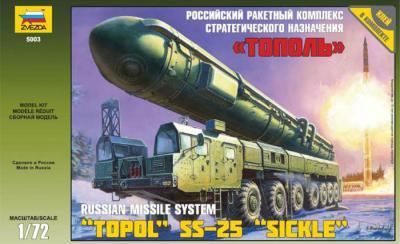 5003 - Ballistic Missile Launcher Topol 1/72