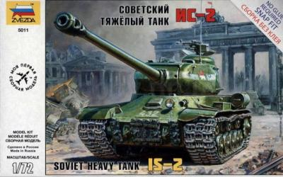 5011 - Jozef Stalin IS-2 Stalin 1/72