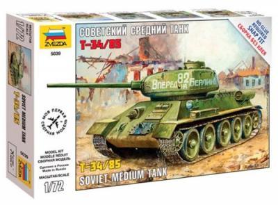5039 - T-34/85 Soviet Medium Tank 1/72