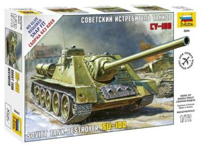 5044 - Soviet Self propelled Gun S-100 1/72