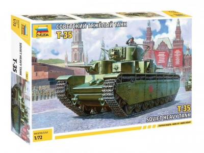5061 - Soviet T-35 Heavy Tank 1/72
