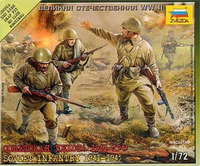 6103 - Infanterie russe 1941-1943 1/72