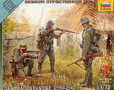 6105 - German Infantry 1939-42 1/72