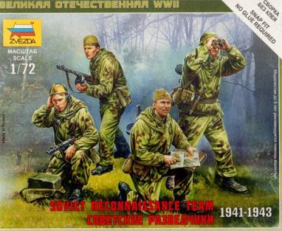 6137 - Soviet Reconnaissance Team 1/72