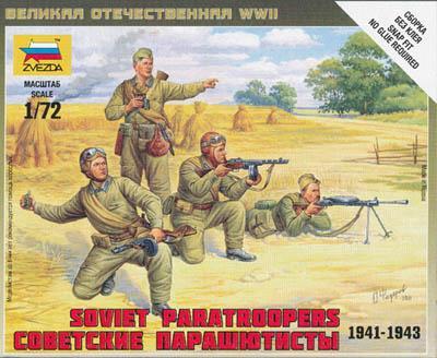 6138 - Soviet Paratroopers 1/72
