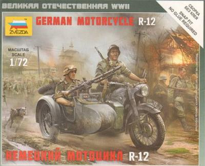 6142 - German Motorcycle BMW R-12 1/72