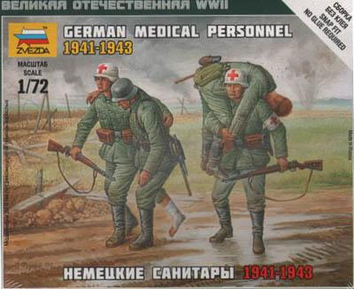 6143 - German Medical Personnel 1/72