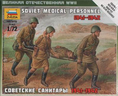 6152 - Soviet Medical Personnel 1/72